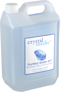 Crystal Medic® Purified Water